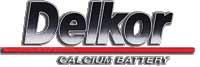 логотип аккумуляторов Delkor